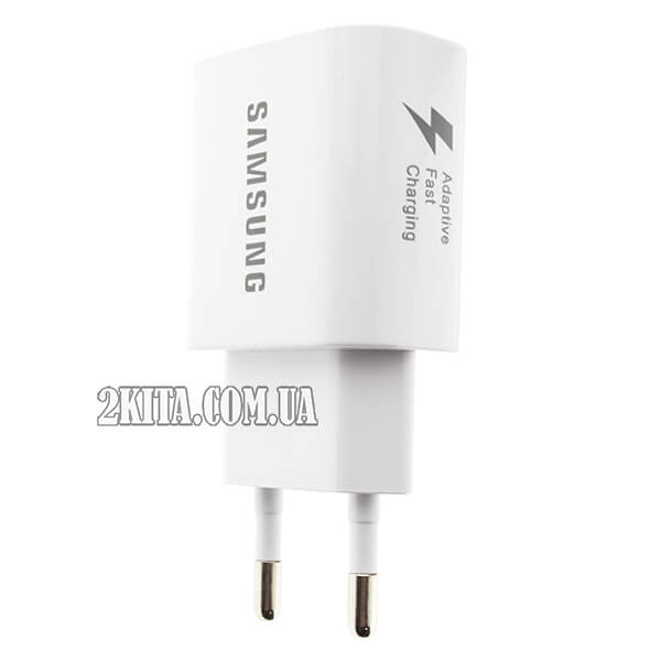 Сетевое зарядное устройство Samsung Fast Charge EP-TA600 (1USBx2A) White