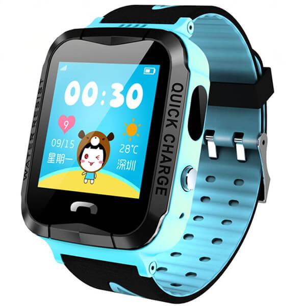 Детские смарт-часы с GPS трекером Smart GPS V6G WaterProof Blue