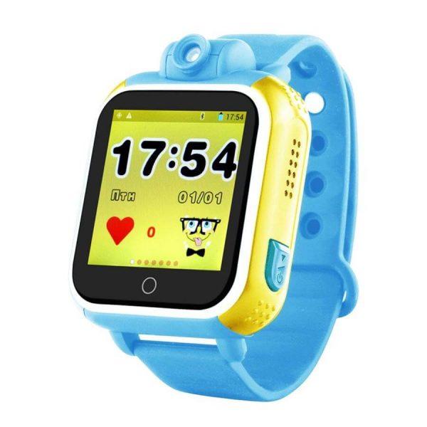 Детские смарт-часы Smart Baby Watch GPS Q200 Blue