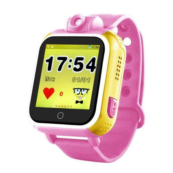 Детские смарт-часы Smart Baby Watch GPS Q200 Pink