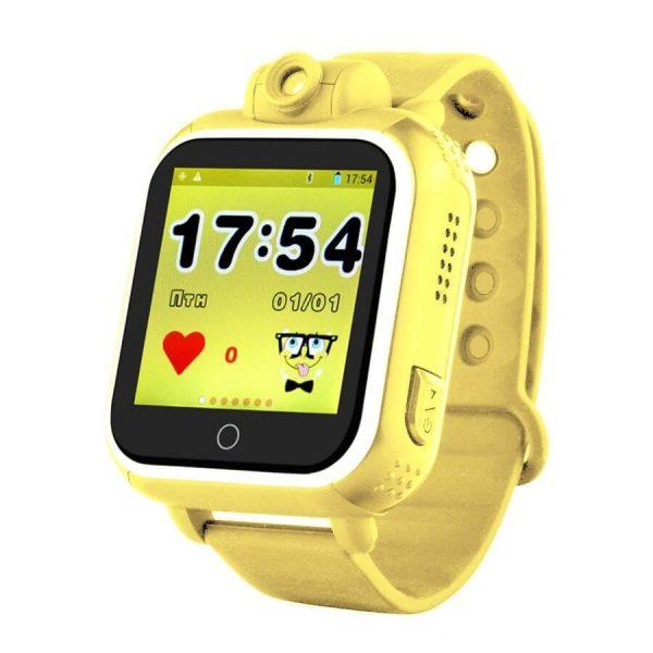 Детские смарт-часы Smart Baby Watch GPS Q200 Yellow