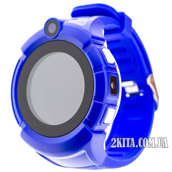 Детские GPS часы Smart Baby Watch Q360 (G610) Dark blue
