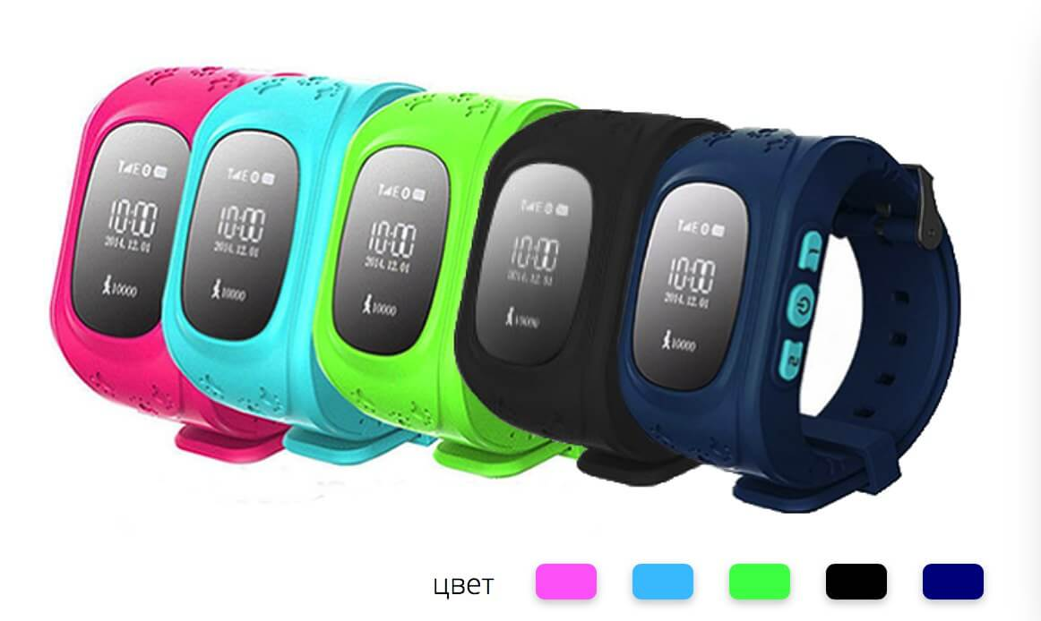 Детские Smart часы Baby watch Q50+GPS трекер OLED