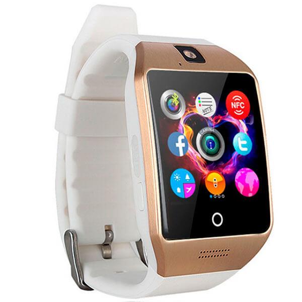 Умные часы Smart Watch Q18 Gold-white