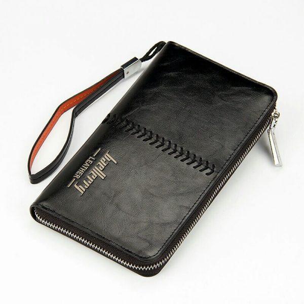 Мужской клатч (портмоне) Baellerry Leather