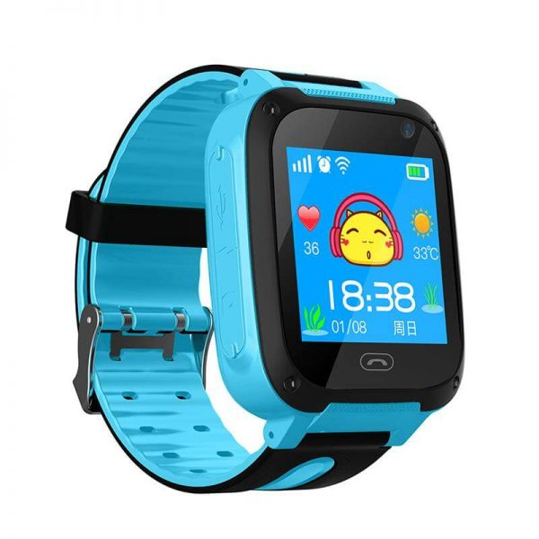 Детские смарт часы Smart Baby Watch F2 Blue
