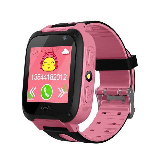 Детские смарт часы Smart Baby Watch F2 Pink