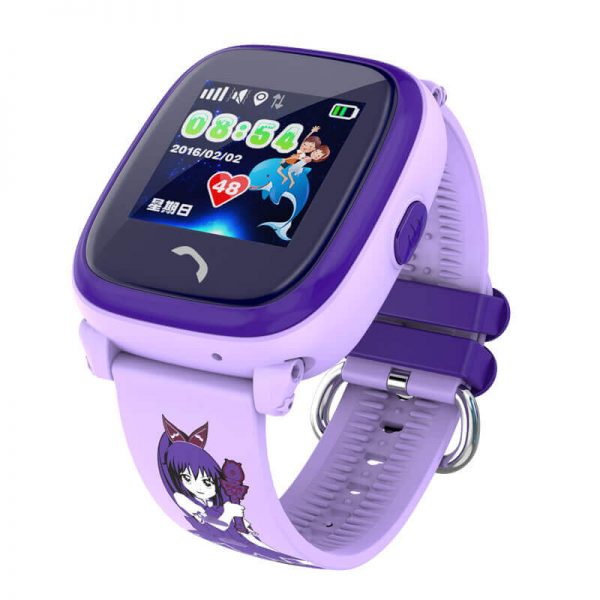 Детские часы Smart Baby Watch Df25 Purple