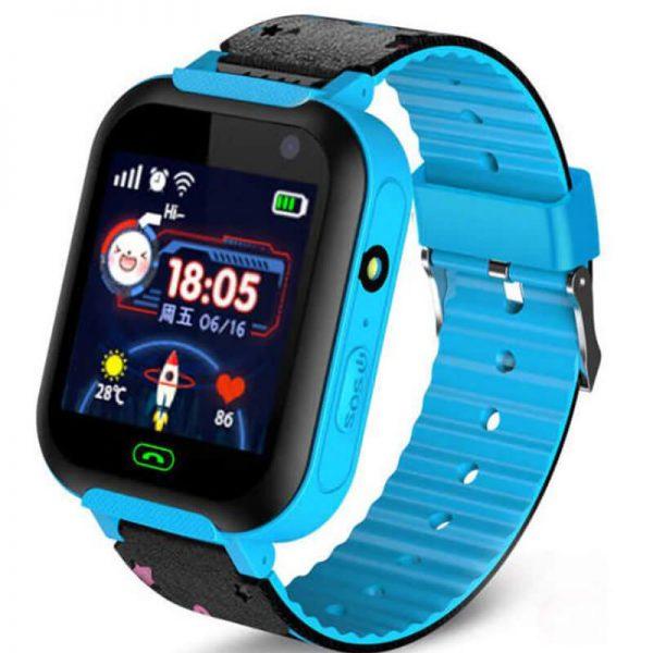 Детские Умные Смарт Часы Baby Smart Watch A25S Blue