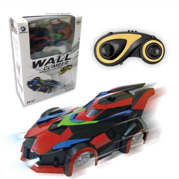 Антигравитационная машинка Wall Climber Car MX-08 с пультом управления