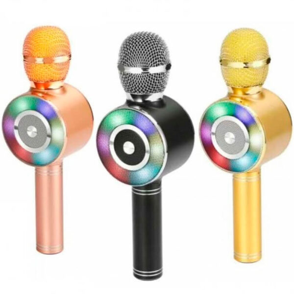 Беспроводной микрофон караоке bluetooth WSTER WS-669