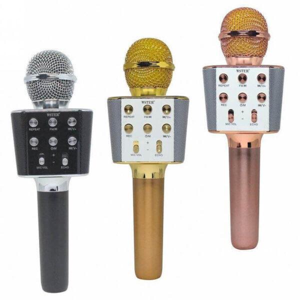 Беспроводной микрофон караоке bluetooth WSTER WS-1688
