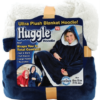 Двухсторонняя толстовка (плед) - халат с капюшоном Huggle Hoodie
