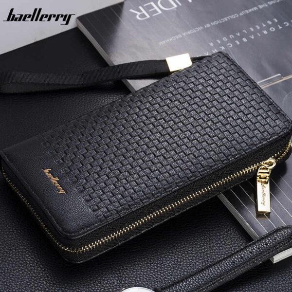 Портмоне кошелек Baellerry S 6055 Черный