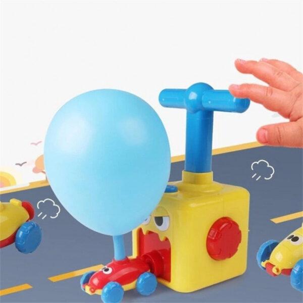 Машинка с шариками воздушные гонки Pumping Car Multy 545C