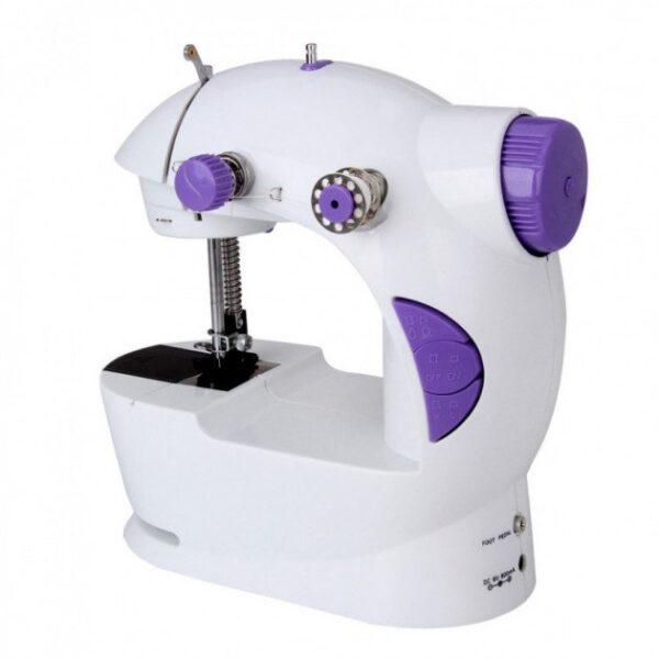 Портативная мини швейная машинка Mini Sewing Machine 4 в 1