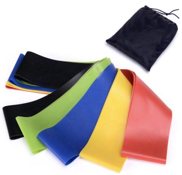 Фитнес резинкиFitness rubber bands5 в 1 лента эспандер, набор резинок для фитнеса