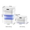 Умная корзина для мусора - сенсорное мусорное ведро складное 42802