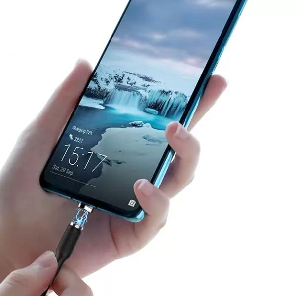 Кабель магнитный USB - Micro Denmen D18V