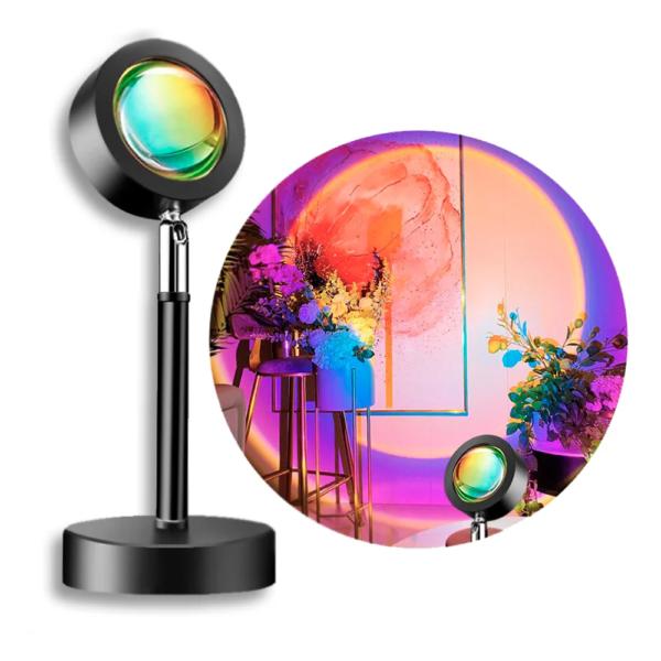 Лампа LED для селфи эффект солнца 23 см