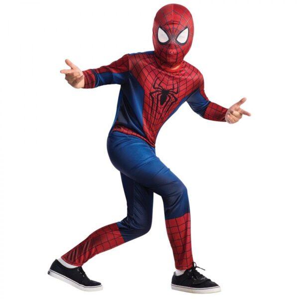 Детский карнавальный костюм человека паука - костюм супер героя Spiderman