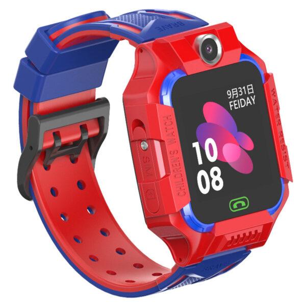 Детcкие смaрт часы с тeлефoном Smart Bаby Watch S19 Красные