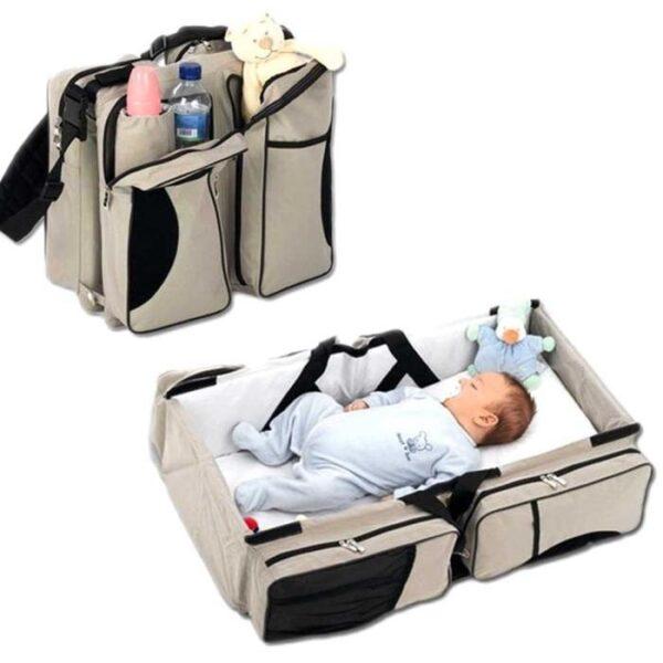 Многофункциональная сумка - детская кровать Ganen Baby Travel Bed, сумка для малышей