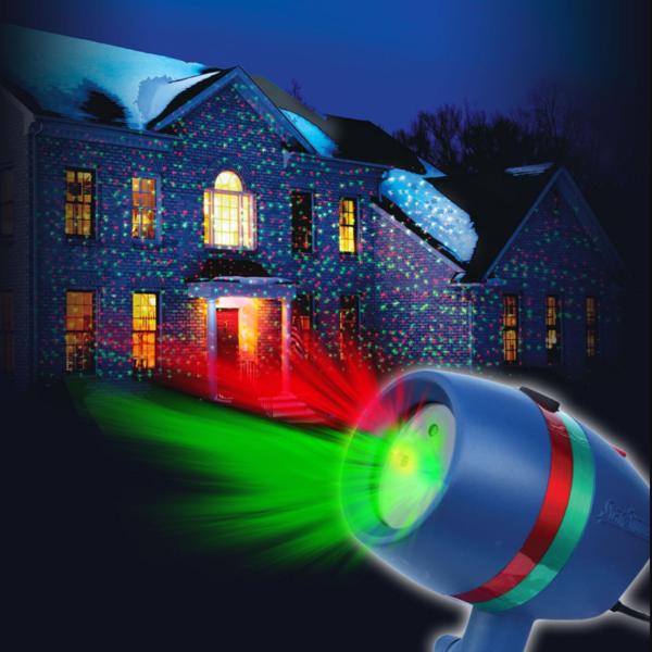 Новогодний лазерный проектор Star Shower Motion Laser Light