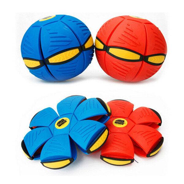 Плоский мяч или летающий дискошар «нло» для игр на улице с фрисби