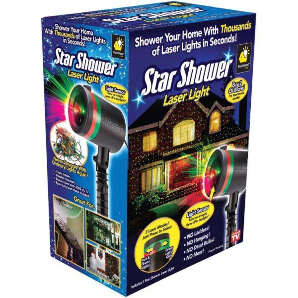 Уличный проектор звезд Star Shower Laser Light. Уличный проектор Стар шовер