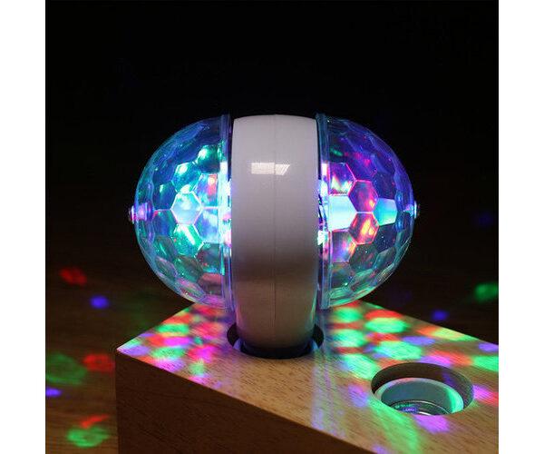 Светодиодная вращающаяся диско-лампа LED Magic Ball Ligh